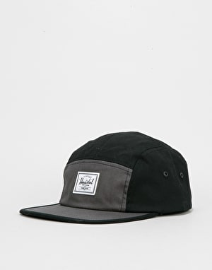 Herschel Supply Co. Glendale 5 Panel Cap - Black/Dark Shadow
