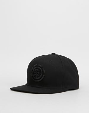 Element Knutsen Snapback Cap - Flint Black