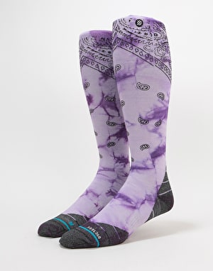 Stance Honshu Backcountry Ultralight Snowboard Socks - Lavender
