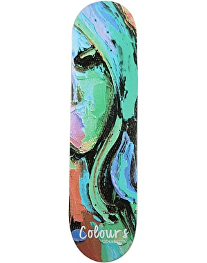 Colours Collectiv Face 96 Skateboard Deck - 8