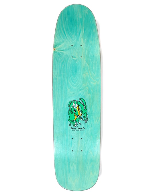 Polar Oskar Dragon Sunset Skateboard Deck - K1 Shape 8.625""