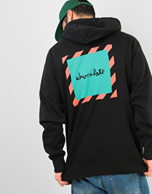 Chocolate Chico'B Pullover Hoodie - Black