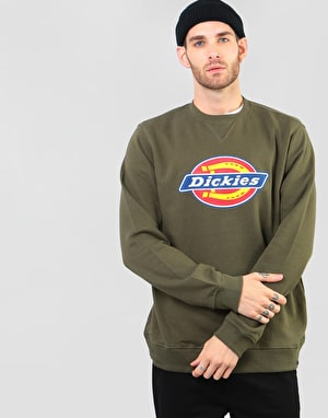Dickies Harrison Sweatshirt - Dark Olive