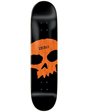 Zero Single Skull Knockout Skateboard Deck - 8.5