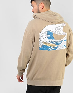 RIPNDIP Great Wave of Nerm Pullover Hoodie - Tan