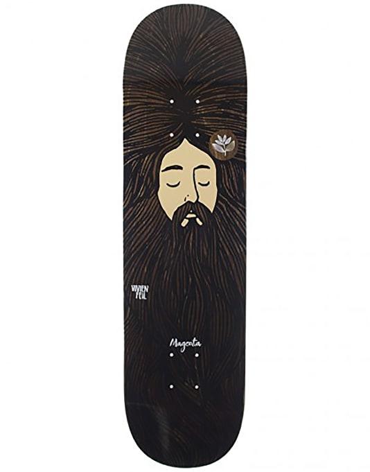 Magenta Feil Dream Series Skateboard Deck - 8""