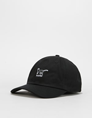 Krooked Kat Cap - Black/White