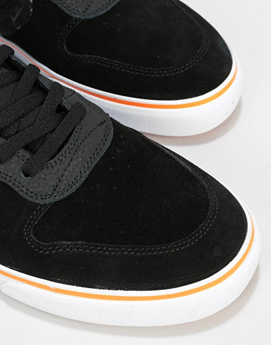 Lakai x Thrasher Carroll 10yr Anniversary Edition Skate Shoes - Black