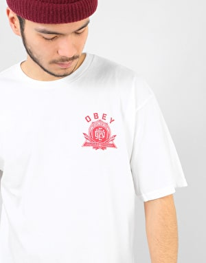 Obey Creative Dissent Monogram T-Shirt - White
