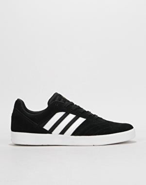 Adidas Suciu ADV II Skate Shoes - Core Black/White/Gold Metallic