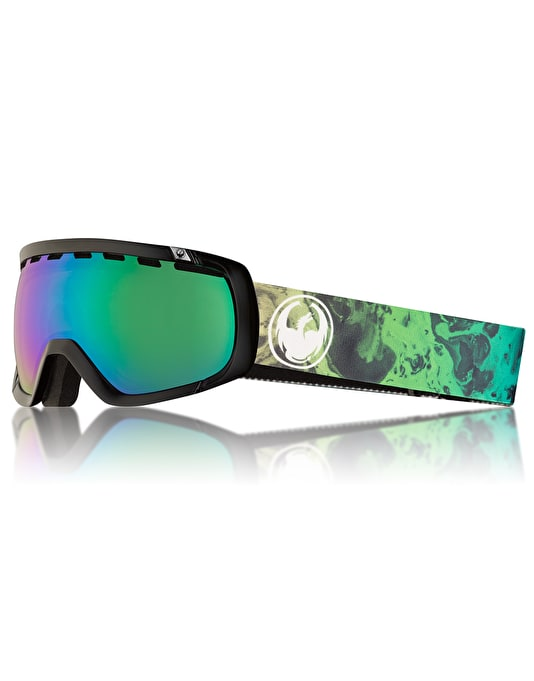 Dragon Rogue 2018 Snowboard Goggles - Ink/LUMALENS® Green Ion