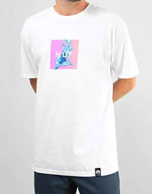 HUF x Sorayama Box T-Shirt - White