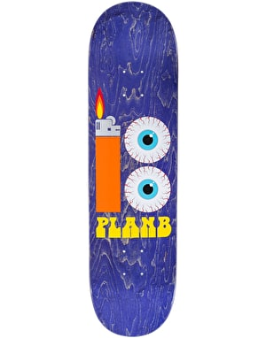 Plan B Blood Shot Skateboard Deck - 8.25