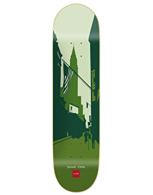 Chocolate Yonnie Cruz City Series Skateboard Deck - 8.125