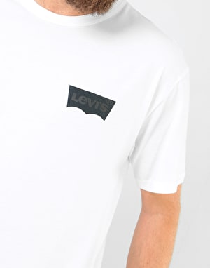 Levi's Skateboarding Graphic S/S T-Shirt - White Core/Batwing Black