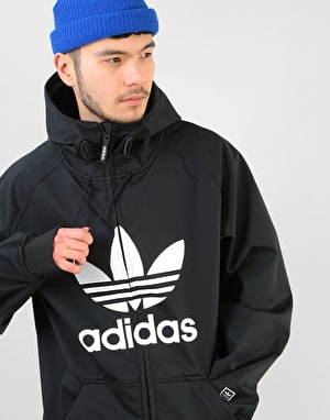 Adidas Greeley Soft Shell 2019 Snowboard Jacket - Black/White