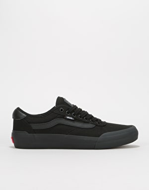 Vans Chima Pro 2 Skate Shoes - (Canvas) Blackout
