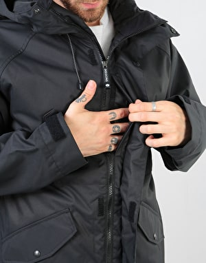 Sessions Scout 2018 Snowboard Jacket - Black