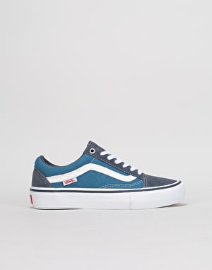 Vans Old Skool Pro Womens Trainers - Navy/Stv Navy/White