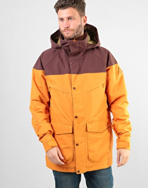 Burton Breach Insulated 2018 Snowboard Jacket - Golden Oak/Chestnut