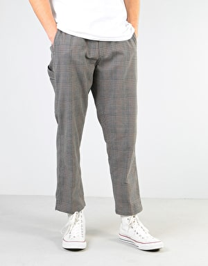 Obey Straggler Plaid Carpenter Pant - Black Multi