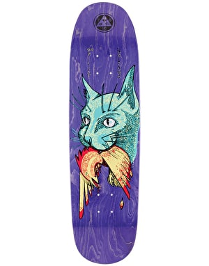Welcome Miller Cat Gets Bird on Catblood Skateboard Deck - 8.75