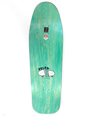 Polar Brady Bacon Hair Skateboard Deck - DANE 1 Shape 9.75