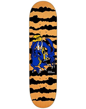 Polar Oskar Dragon Sunset Skateboard Deck - 7.8