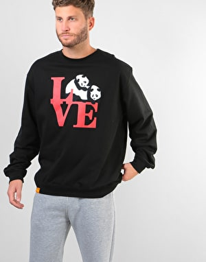 Enjoi Love Crew Sweatshirt - Black