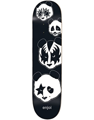 Enjoi Kiss Logo Skateboard Deck - 8.375