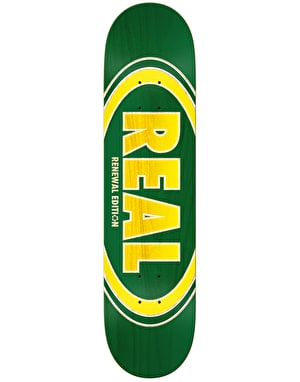 Real Oval Duo Fades Skateboard Deck - 7.75