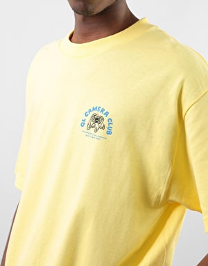 The Quiet Life Camera Hands T-Shirt - Banana