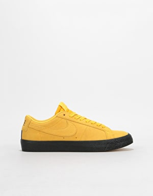 Nike SB Zoom Blazer Low Womens Trainers - Yellow/Yellow/Black