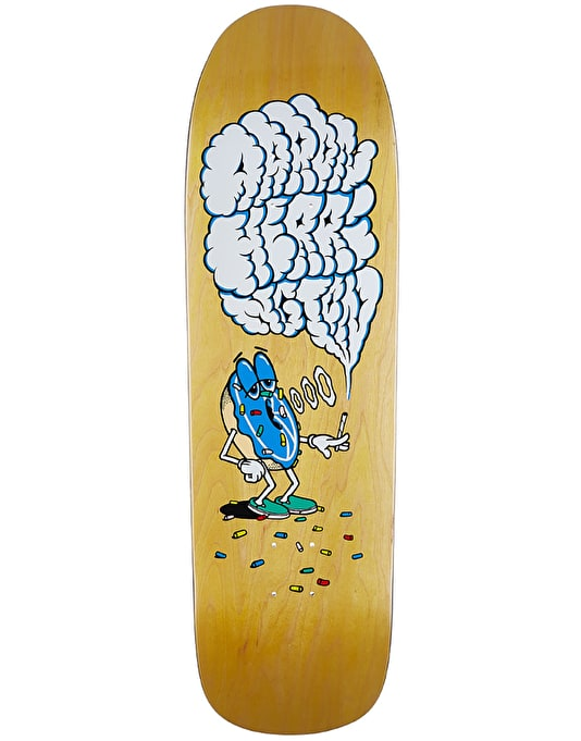 Polar Herrington Smoking Donut Skateboard Deck - 1991 Shape 9.25""