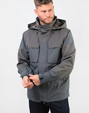 Bonfire Structure Insulated 2019 Snowboard Jacket - Battleship
