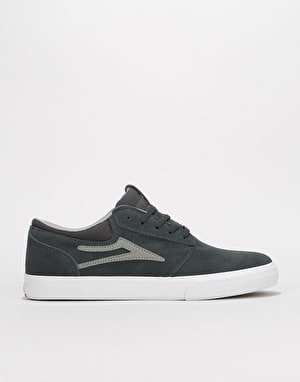 Lakai Griffin Skate Shoes - Charcoal Suede