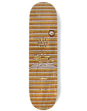 Magenta Gore Perceptions Skateboard Deck - 8