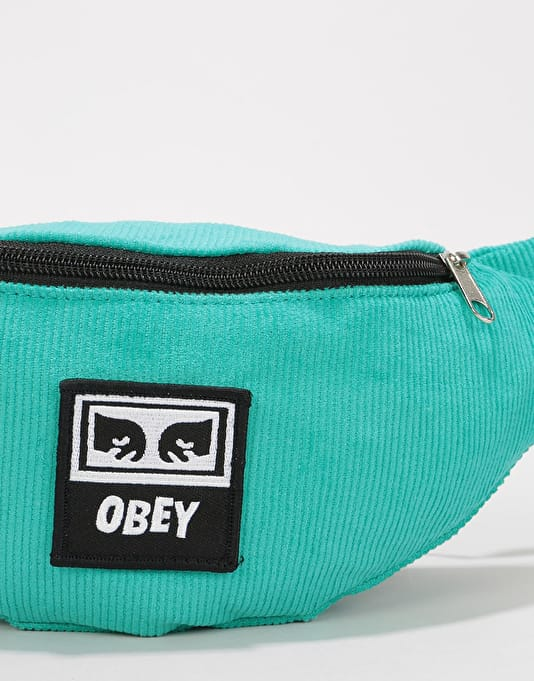 Obey Wasted Cross Body Bag - Teal Cord