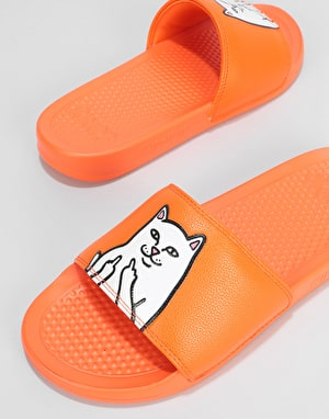 RIPNDIP Lord Nermal Slides - Safety Orange