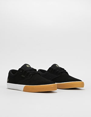 Etnies Jameson Vulc Skate Shoes - Black/Gum/White
