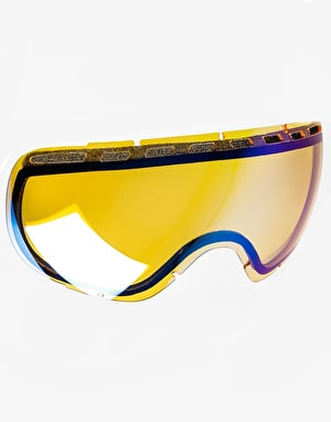Dragon Rogue Snowboard Goggles - Jet/Green Ion