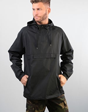 Route One Pullover Windbreaker - Black