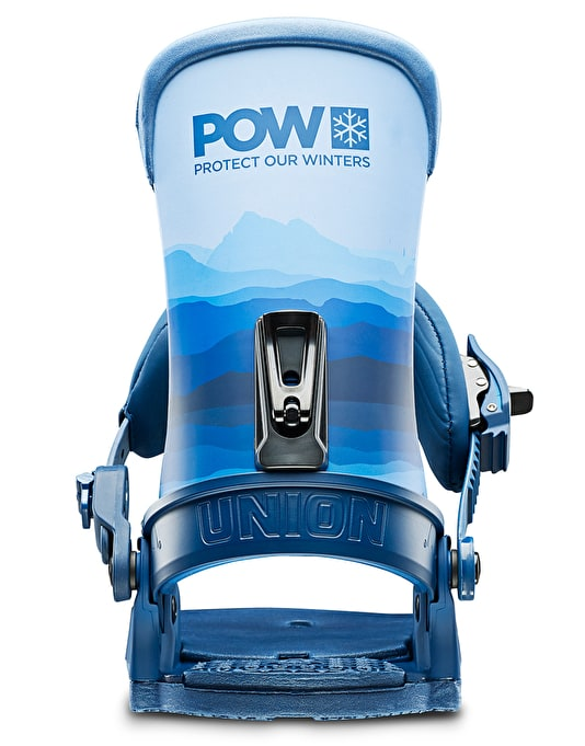 Union x Protect Our Winters Custom House 2019 Snowboard Bindings - POW