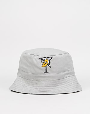 Handy Lemon Tree Bucket Hat - Light Grey