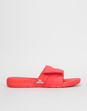 Supra Locker Slides - Red