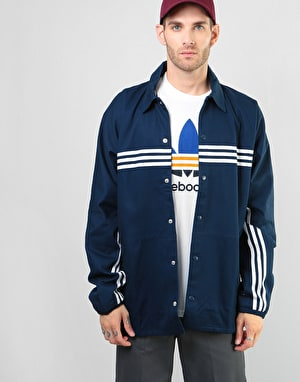 Adidas Schlepp Jacket - Collegiate Navy/White