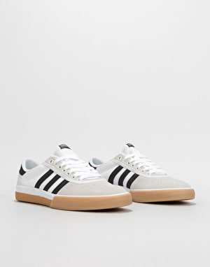 new product 05a5c 77e82 ... Adidas Lucas Premiere Skate Shoes - Crystal White Black Gum