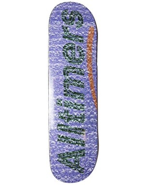 Alltimers Bubble Wrap Skateboard Deck - 8.5