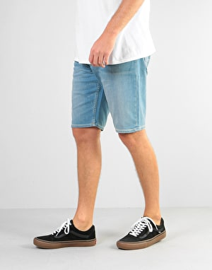 DC Worker Straight Denim Shorts - Light Bleach