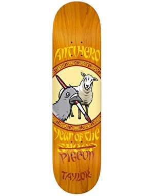 Anti Hero Taylor Year of the Pigeon Pro Deck - 8.5